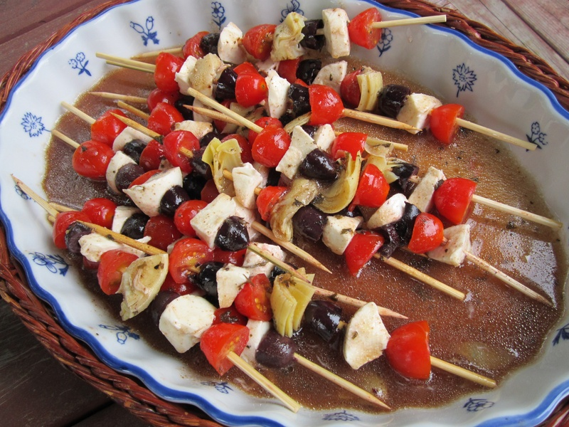 Antipasto Skewers - Stacey's Savory & Sweet Home Cooking