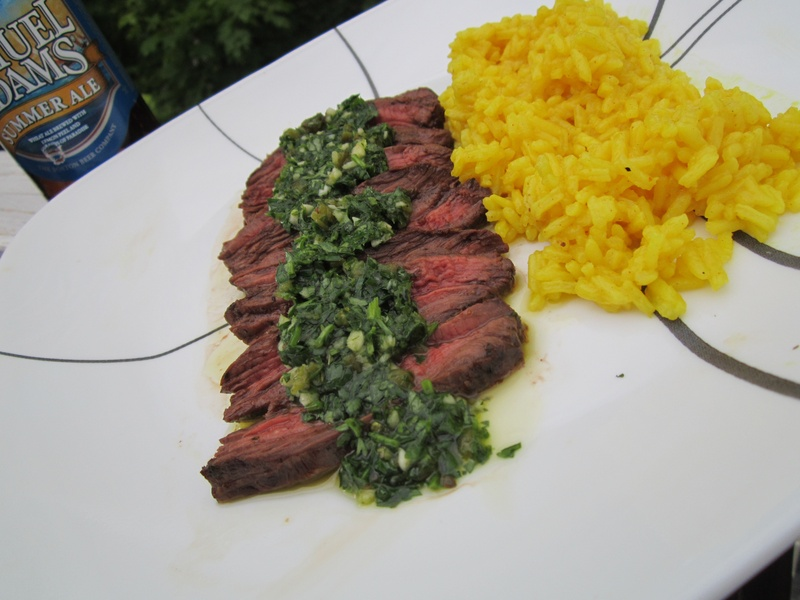 Roasted Jalapeno Chimichurri Steak